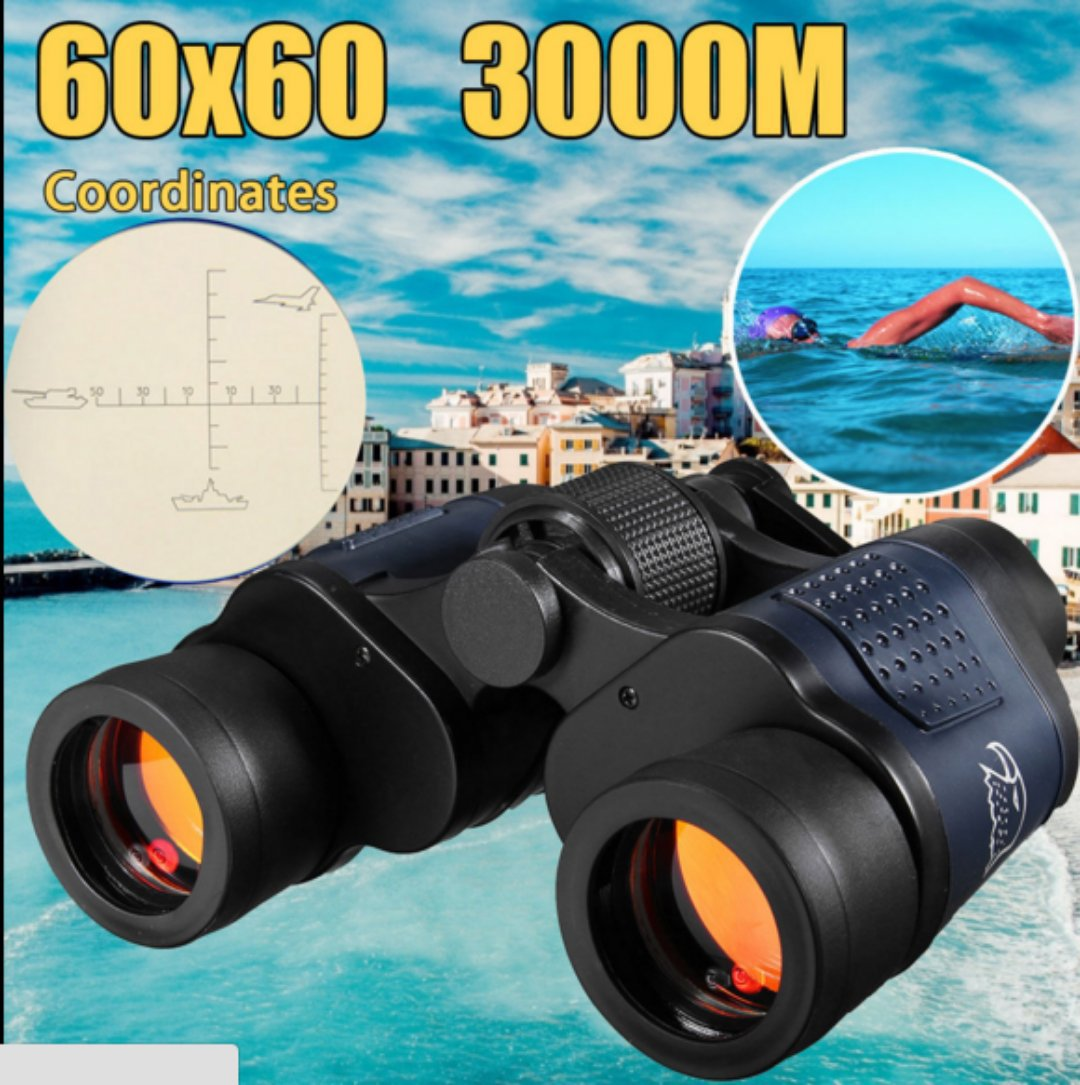 New 60X60 Optical Telescope Night Vision Binoculars High Clarity 3000M Waterproof High Power Definition Outdoor Hunting SA-9New 60X60 Optical Telescope Night Vision Binoculars High Clarity 3000M Waterproof High Power Definition Outdoor Hunting SA-9