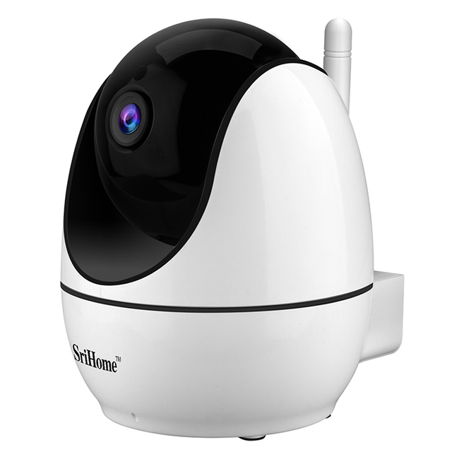 SriHome SH026 WiFi IP Camera 1080P Wireless Security HD 2.4G Smart Networking Night Vision For Smart Home
