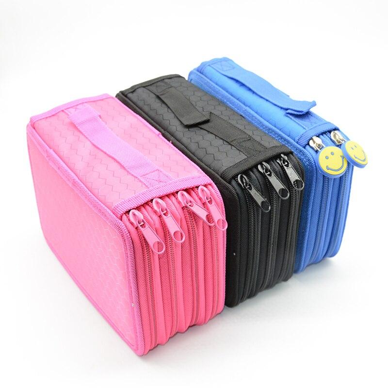 4th porte-crayon de sol Kawaii étui à crayons coloré kalem kutusu estuche escolar fournitures scolaires etui trousse scolaire stylo