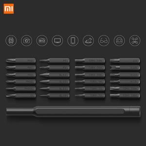 Image 5 - Xiaomi Kit de destornilladores de precisión Mijia Wiha 24 en 1, brocas magnéticas de 60hrc, herramientas de reparación para el hogar