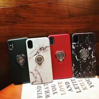 10pcs/lot Mutil function Built in Ring Holder Stand Phone Case Full Cover For iPhoneXs max 8plus 6s 7plus Body Heavy Protection