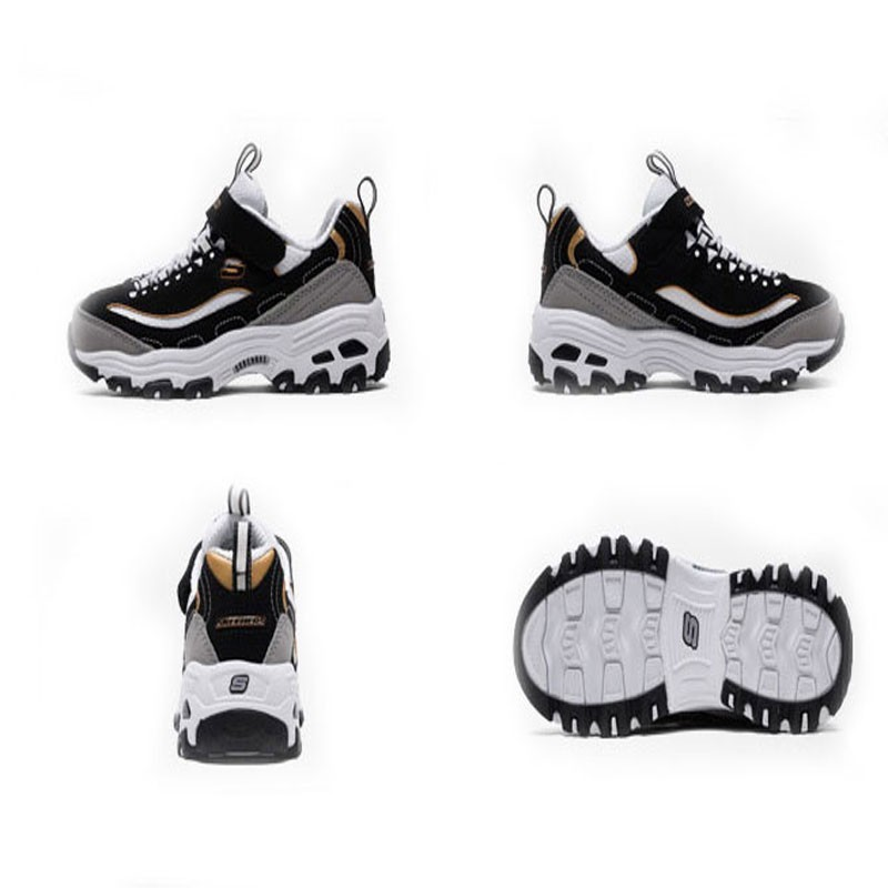 d7c6ca423240 SKECHERS KIDS Skye Strange Baby Shoes Men And Women Children Sneakers Small  White Shoes Parenting Panda Shoe 996212L WSL BKGD-in Sneakers from Mother    Kids ...