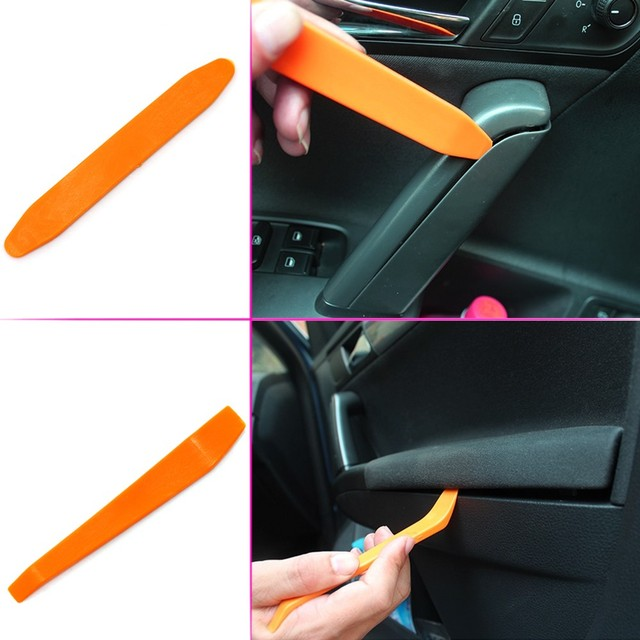 Car Panel Dash Removal Tools Automobile Nail Puller Radio Audio Panel Door Repairing Clip Trim Removal Pry Repair Tool Plastic