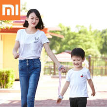 Xiaomi Mijia New Arrived 2M Anti-lost Strap Bracelet Safety Adjustable Baby Kids Children Traction Rope Wristband 5(China)