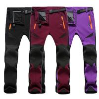 Winter Sports Pants For Men Climbing Skiing Trousers For Women Warm Ski Pants Snow Ice Skating Pants Sportswear Thick Trousers