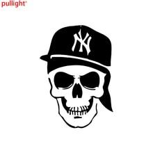 Attractive Personality Fashion Creative New York Skull Decal Sticker Car Truck Window