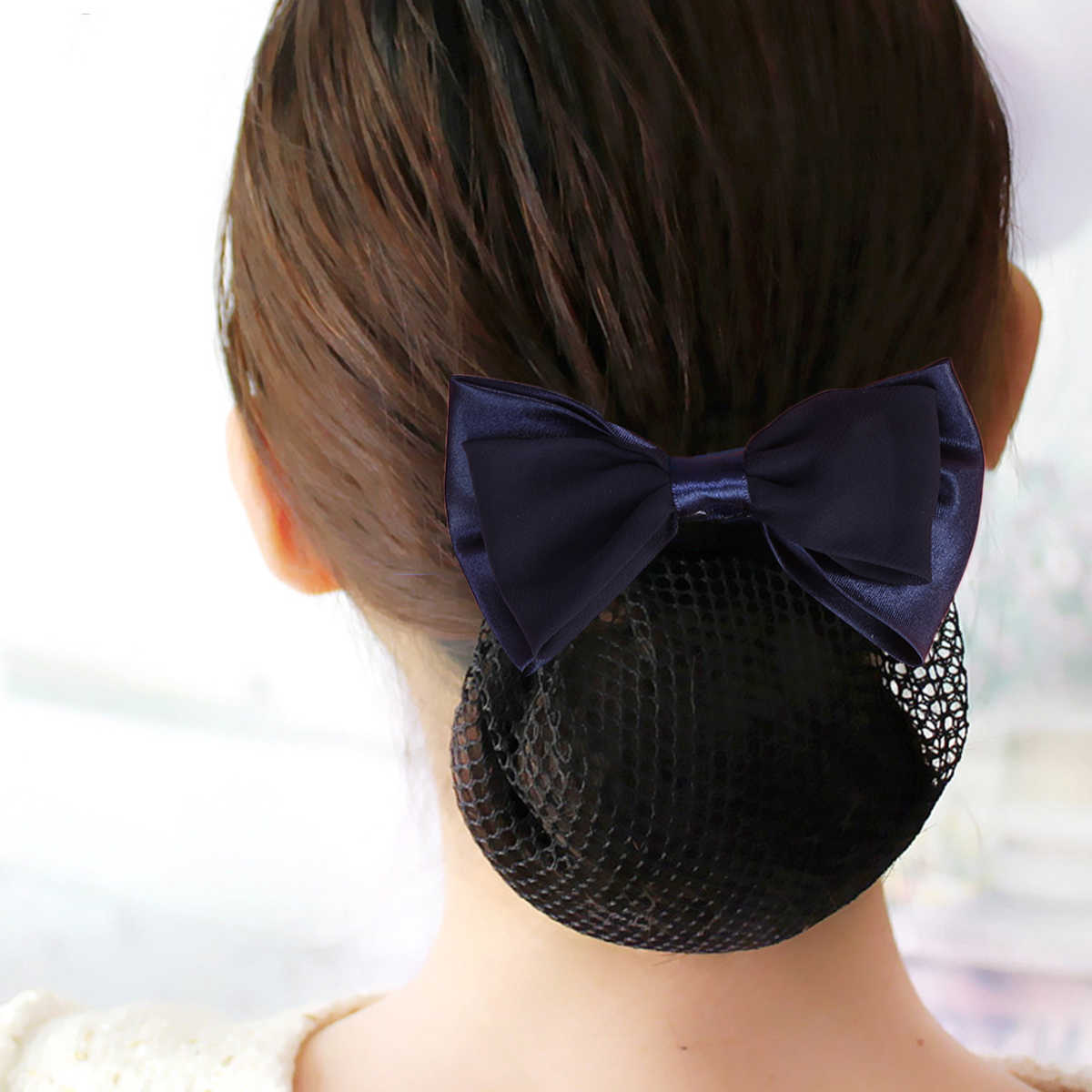 9882606e51f2 Detail Feedback Questions about 2pcs Elastic Butterfly Bun Bow ...