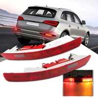 1pc/2pcs Rear Left Side Brake Parking Warning Fog Tail Light Lamp Bumper Cover For Audi Q5 2.0T 2009 2015 #8R0 945 095 B