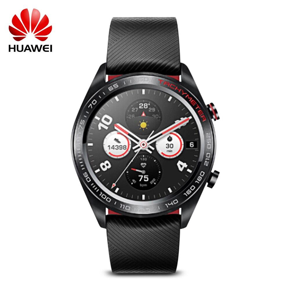 Huawei Honor ver Maigic reloj inteligente 1,2 pulgadas AMOLED pantalla táctil de ritmo cardíaco de BT4.2 BLE GPS 5ATM impermeable