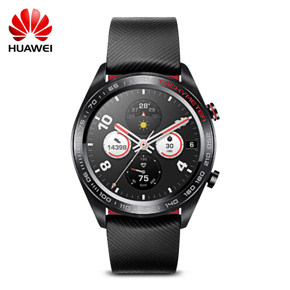 Huawei Honor Orologio Maigic Smartwatch 1.2 pollice AMOLED Touchscreen Heartrate Monitoraggio BT4.2 BLE GPS 5ATM Impermeabile