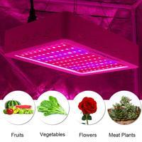 100/200 Leds Lâmpada Para Hidropônico Planta Cresce A Luz Do Painel com efeito de Estufa Crescente