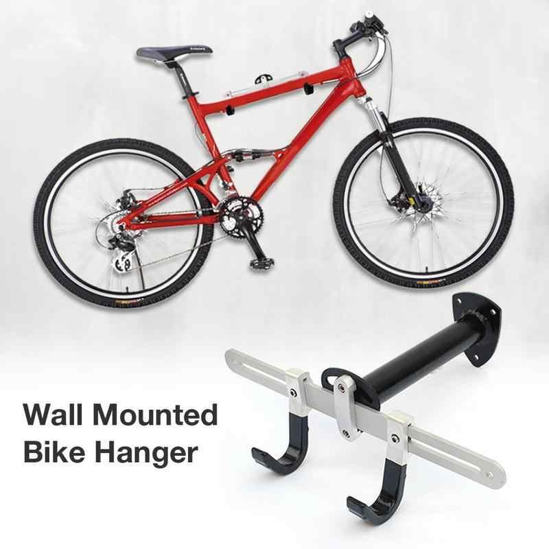 Bicycle Rack Garage Wall Mounted Bike Hanger Storage System Vertical Hook For Indoor Shed Easily Hang Children Balance Bike