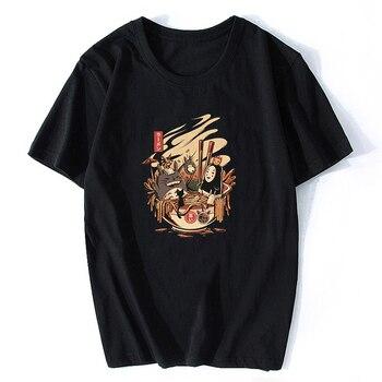 En De Espíritu Camisa Los 2019 Japón Totoro Hombre Anime Delgado T WeIH2Y9EbD