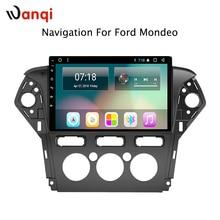 8,1 дюймов для Ford MONDEO 2013-2011 Автомобильный аудио Радио система плеер Android 10,1 Развлечения gps навигация в том числе canbus