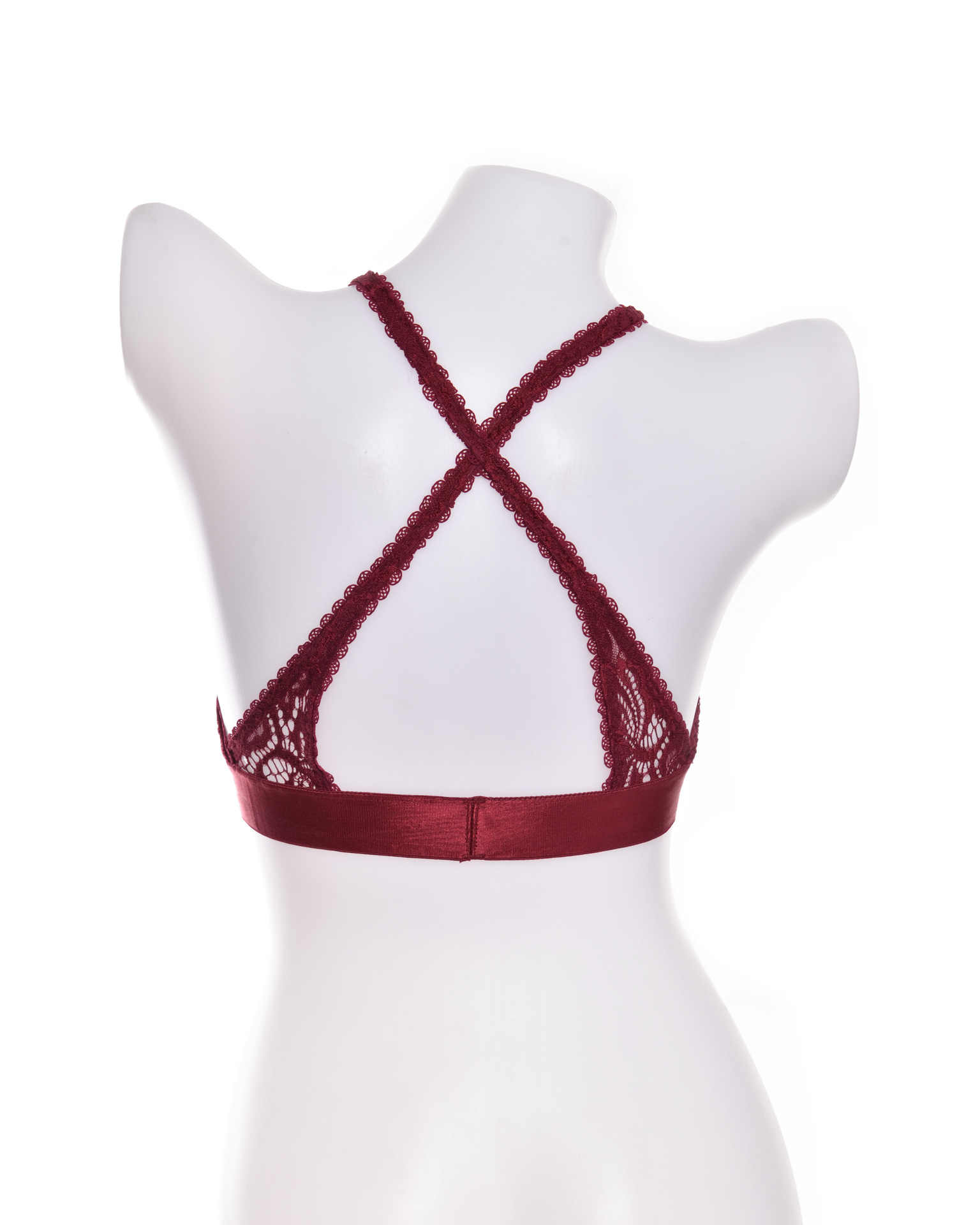 2020 ใหม่ลูกไม้ชุดชั้นในชุดชั้นในหญิงความงามกลับ Bralette หน้าอกเซ็กซี่ข้ามคอด้านบนบางสุภาพสตรีชุดชั้นในสตรีชุดชั้นใน
