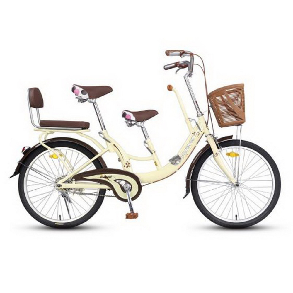 230601/22/24 Inch Bike/picnic Car/bike/mother And Child Car And Men's Commuter Bike/Ergonomic Seat/High Carbon Steel Bracket