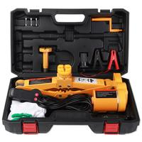 3Ton DC 12V/10A Fully Automatic Electric Scissor Car Lift Jack Repair Tire Wheel Chang Kit With A Night Light Car Repair Tools