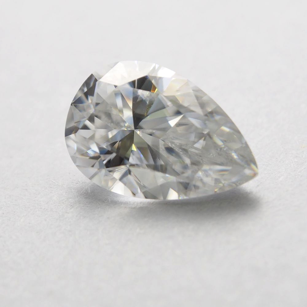 7*10mm pear Cut 1.93 carat VVS Moissanite Super White Loose Diamond for Wedding Ring
