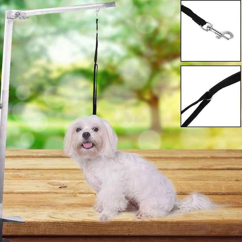 Стальная подвеска для домашних животных, кронштейн для груминга с регулируемым металлическим кронштейном, держатель для собак и кошек для банного стола