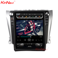 KiriNavi Vertical Screen Tesla Style 12.1 Inch Android 7.1 Car Stereo Auto Radio For Toyota Camry Radio GPS Navigation 2012+