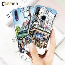 CASEIER Mosaic Phone Case For Huawei P20 Lite P10 P9 P8 Honor 8 9 Chic Pattern Cover Funda For Huawei P8 P9 P10 P20 Lite Case все цены