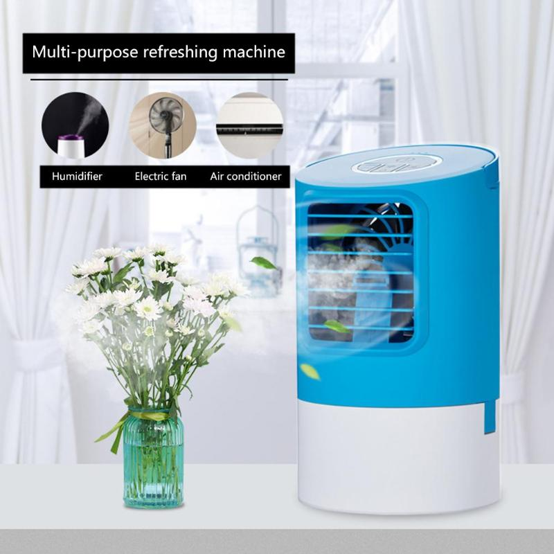 400ml Portable Timing Air Conditioner Humidifier Purifier 7Colors LED 3 Speed Air Cooling Fan Filter Purifier for Office Home400ml Portable Timing Air Conditioner Humidifier Purifier 7Colors LED 3 Speed Air Cooling Fan Filter Purifier for Office Home
