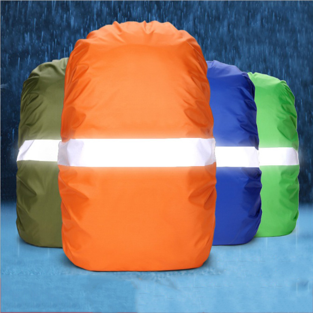 20-60L Portable Waterproof Dustproof Backpack Rain Cover Quality Nylon Anti-UV Night Reflective Protect Bag Accessories For Bags