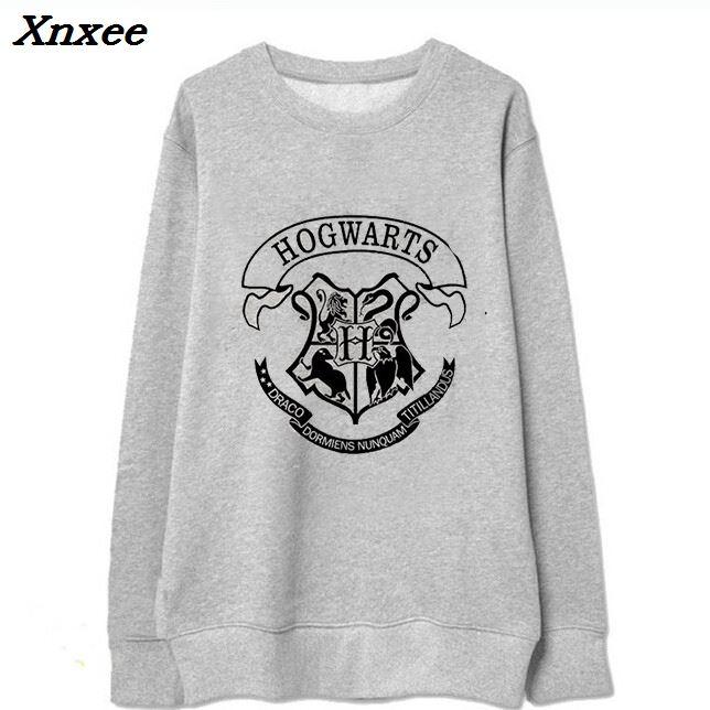 2018 Summer Autumn Girl Fleece Hoodies Harries Potter Printed Sweatshirt Boys Girls Harajuku O-Neck Fleece Tracksuit Xnxee