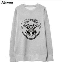 2018 summer autumn girl fleece Hoodies harries Potter printed Sweatshirt Boys Girls harajuku O-Neck tracksuit Xnxee
