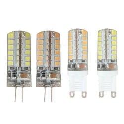 Высокое качество G9 G4 5 W 3014 48SMD теплый белый Кукуруза свет лампы 220 V #910