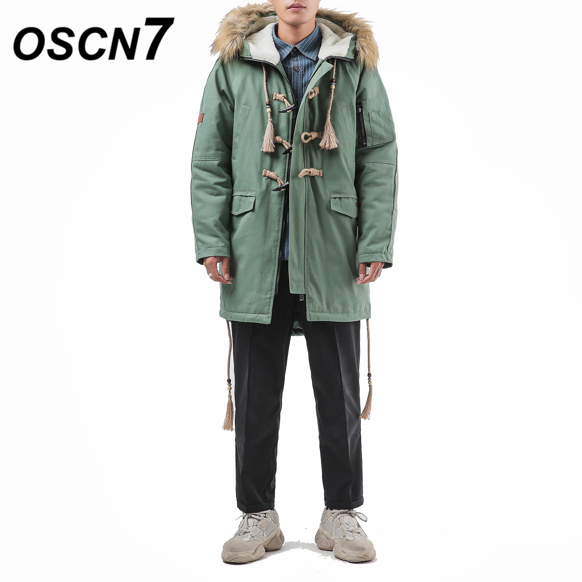 Il Degli M709 Abbigliamento verde Con Di Cappuccio Parka Del Artiglio Giacca  Vento Pulsante Uomo Imbottito Casual Oscn7 A Addensare Caldo Inverno Uomini  ... 19a1a676c3f
