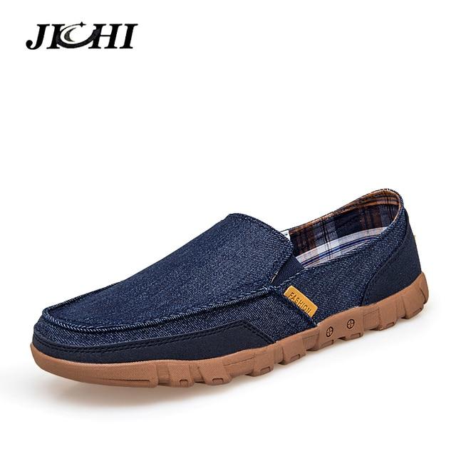 2019 Men Casual Shoes Big Size 39-46 Canvas Shoes Men Driving Shoes Slip-On Fashion Flat Loafers Shoes Comfortatble Man Footwear