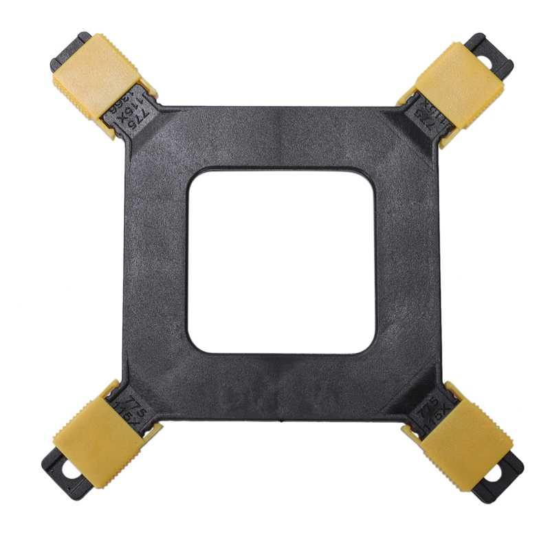 Lanshuo CPU Fan Radiator Cooler Heat Sink Berdiri untuk Intel AMD LGA 775/1150/1151/1155/ 1156/1366 (untuk Semua Gaya Papan Utama)