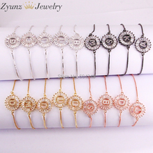 26 нитей, 26 дюймов, оригинальный фотоэлемент и браслеты для женщин и девушек, регулируемые цепи, браслет с кристаллами и фианитами