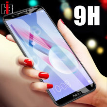 Tempered Glass On For Huawei honor 9 Lite 8X 7X 7A 7C 10 Screen Protector Glass For Huawei P20 P10 Lite P Smart Mate 10 Lite Pro(China)