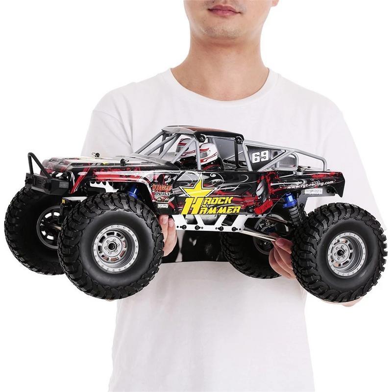 RGT 18000 1/10 2.4 GHz 4WD course voiture RC tout-terrain roche chenille monstre camion télécommande électrique jouet voiture pour enfants