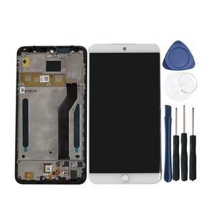 """Image 5 - Original Axisinternational Für 5,46 """"Meizu M15 Snapdragon 626 LCD Screen Display + Touch Panel Digitizer Für Meizu 15 Lite rahmen"""