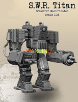 1:35 Heavy Machine Armor Resin Model No Picture Primary Color DIY Collection Toy Free Shipping