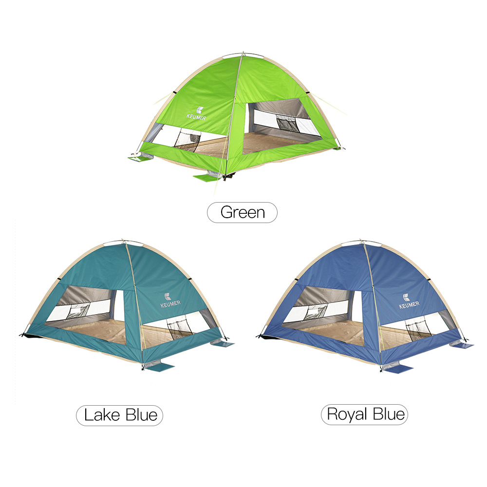 Portable Automatic Instant Beach Shade Tent Outdoor Camping Tent 3People Easy Popup Sun Shelter UV Protection Travel Hiking TentPortable Automatic Instant Beach Shade Tent Outdoor Camping Tent 3People Easy Popup Sun Shelter UV Protection Travel Hiking Tent
