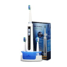 Seago Sonic Electric Toothbrush Rechargeable Adult Teeth tooth brush Waterproof Replaceable Heads Acoustci Wave Toothbrushes