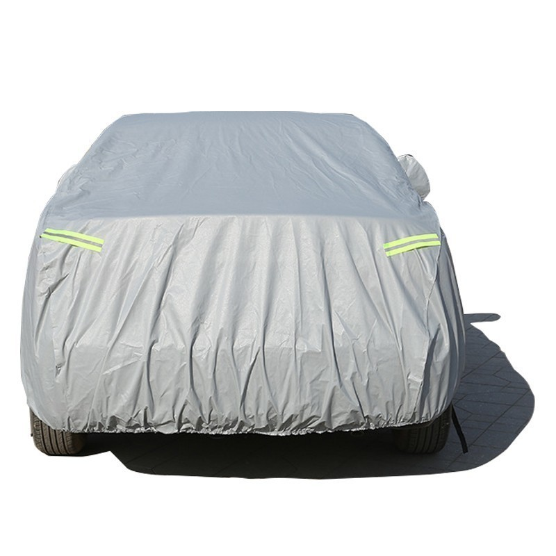 Car Cover For Skoda Octavia Rapid Yeti Karoq Kodiaq Gt Fabia With Side Opening Zipper Dustproof Waterproof Sun Protector Cover