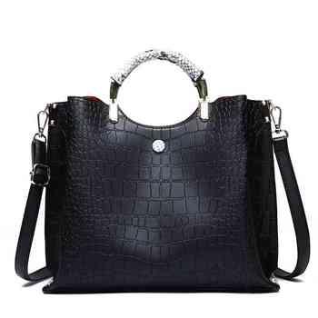 31a4d431c22c Product Offer. Кожаная женская сумка с ручкой сверху модная повседневная ...