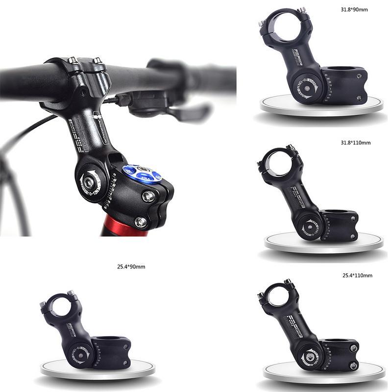 Adjustable Bicycle Stem Riser 25 4 31 8mm Road Mountain Bike Stem Aluminum Alloy Bicycle Parts