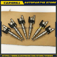 Set 6 Fuel Injector 13537589048 13537585261 09 For BMW 135i 335i 535i 550i 650i 740i 750i X5