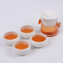 Portable Tea Set Include1Teapot 2/4 Teacups1bag Beautiful and Easy Teapot Kettle Chinese Travel Ceramic Portable Teaset Gaiwan