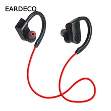 EARDECO Sport Wireless Headphones Earhook Bluetooth Earphone Headphone Ear Hook Earphones Headset Microphone Earpiece for Phone цена и фото