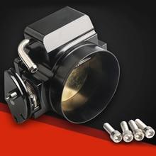 102mm Throttle Body with TPS Position Sensor For GM LS1 LS2 LS3 LS6 LSX TB1021S Black Aluminum