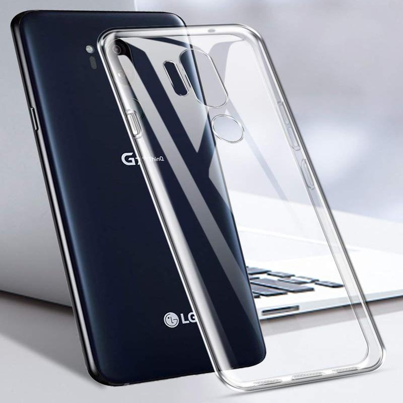 Case For LG V20 V30 V40 G6 G7 Fit Q6 Q8 G8S X Power3 K40 K10 K8 2018 K4 2017 G2 G3 G4 G5 Clear Soft TPU Case Silicone Cover Capa
