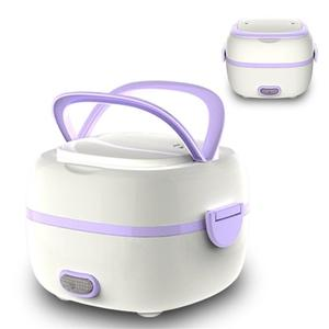 Mini Rice Cooker Portable Food Heating Steamer Heat Preservation Lunch Box Multifunctional Electric Lunch Box EU Plug/US plug