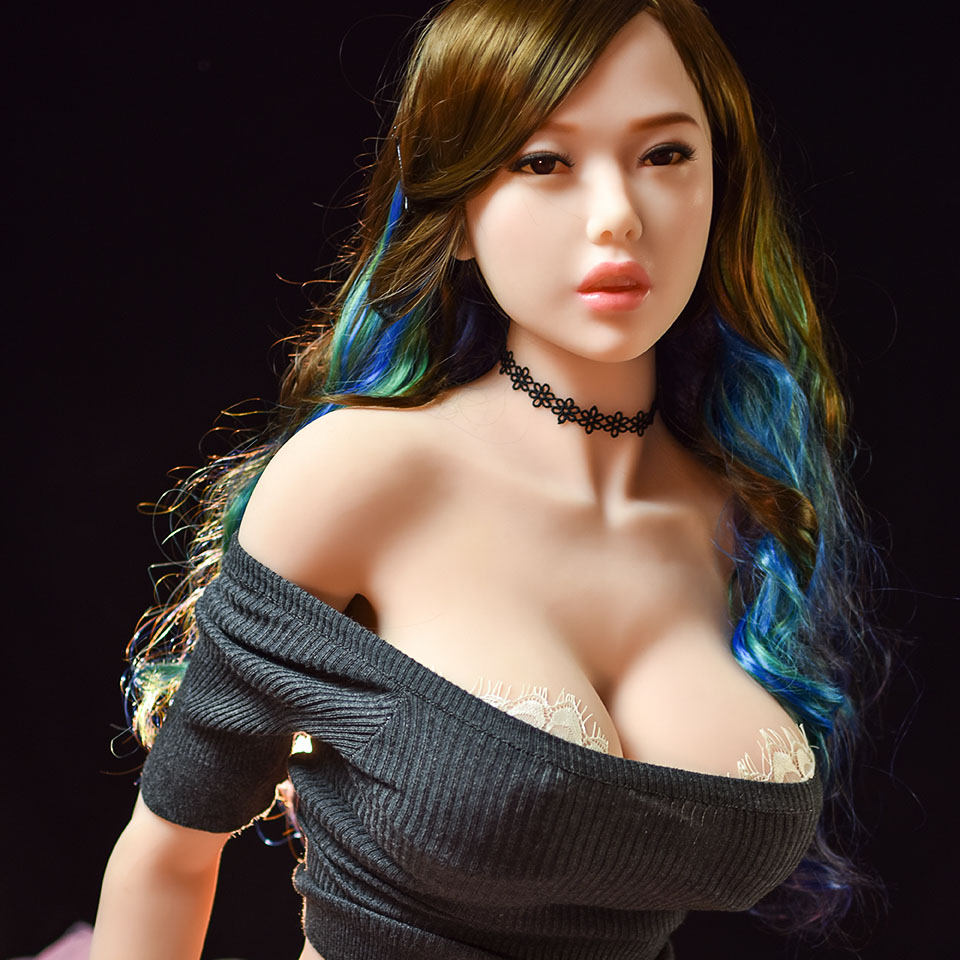 <font><b>158cm</b></font> <font><b>Sex</b></font> <font><b>Dolls</b></font> for Adult Men Sexy for Toys Realistic japanese anime Silicone oral Love <font><b>Doll</b></font> life big Breast mini Vagina Pussy image